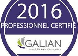 GALIAN CERTIFICATION PROFESSIONNELLE